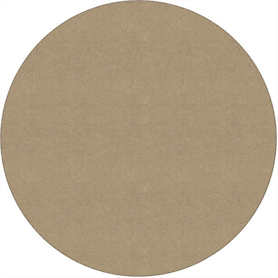 Americolors Solids Rugs-Classroom Rugs & Carpets-Almond-6' x 6' Circle-