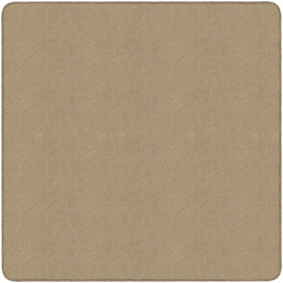 Americolors Solids Rugs-Classroom Rugs & Carpets-Almond-6' x 6' Square-