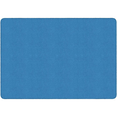 Americolors Solids Rugs-Classroom Rugs & Carpets-Blue Bird-4' x 6' Rectangle-