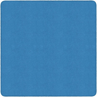 Americolors Solids Rugs-Classroom Rugs & Carpets-Blue Bird-6' x 6' Square-