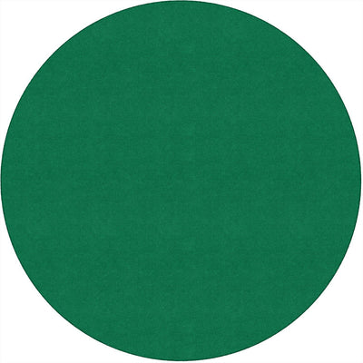 Americolors Solids Rugs-Classroom Rugs & Carpets-Clover Green-6' x 6' Circle-