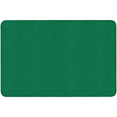 Americolors Solids Rugs-Classroom Rugs & Carpets-Clover Green-6' x 9' Rectangle-