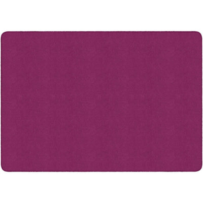 Americolors Solids Rugs-Classroom Rugs & Carpets-Cranberry-4' x 6' Rectangle-