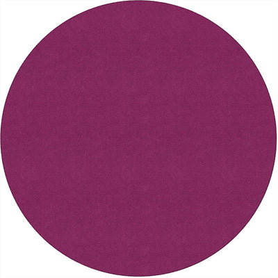 Americolors Solids Rugs-Classroom Rugs & Carpets-Cranberry-6' x 6' Circle-