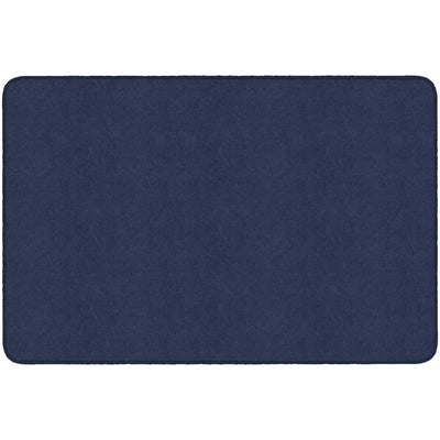 Americolors Solids Rugs-Classroom Rugs & Carpets-Navy-4' x 6' Rectangle-