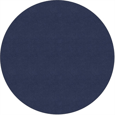 Americolors Solids Rugs-Classroom Rugs & Carpets-Navy-6' x 6' Circle-