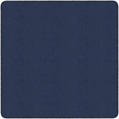 Americolors Solids Rugs-Classroom Rugs & Carpets-Navy-6' x 6' Square-