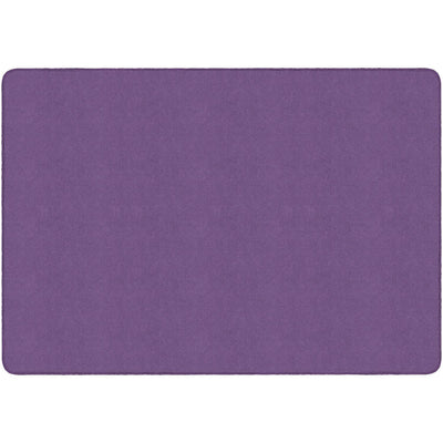 Americolors Solids Rugs-Classroom Rugs & Carpets-Pretty Purple-4' x 6' Rectangle-