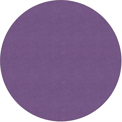 Americolors Solids Rugs-Classroom Rugs & Carpets-Pretty Purple-6' x 6' Circle-