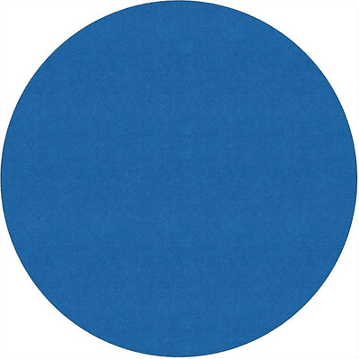 Americolors Solids Rugs-Classroom Rugs & Carpets-Royal Blue-6' x 6' Circle-