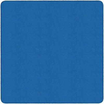 Americolors Solids Rugs-Classroom Rugs & Carpets-Royal Blue-6' x 6' Square-