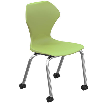 "Apex Series Mobile Caster Chair-Chairs-18""-Apple-"