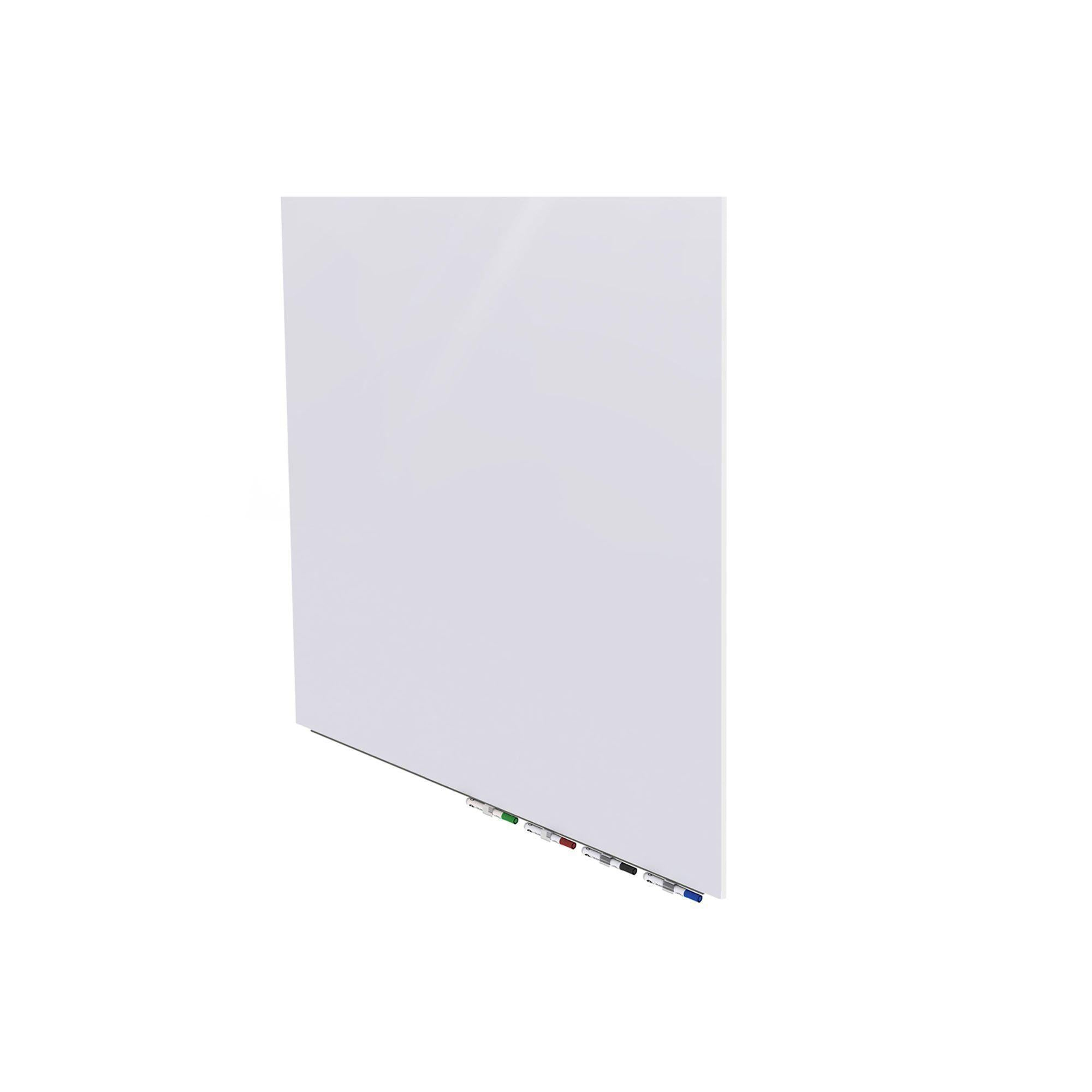 Aria Low Profile Glass Whiteboard-Boards-Magnetic-2'H x 3'W-