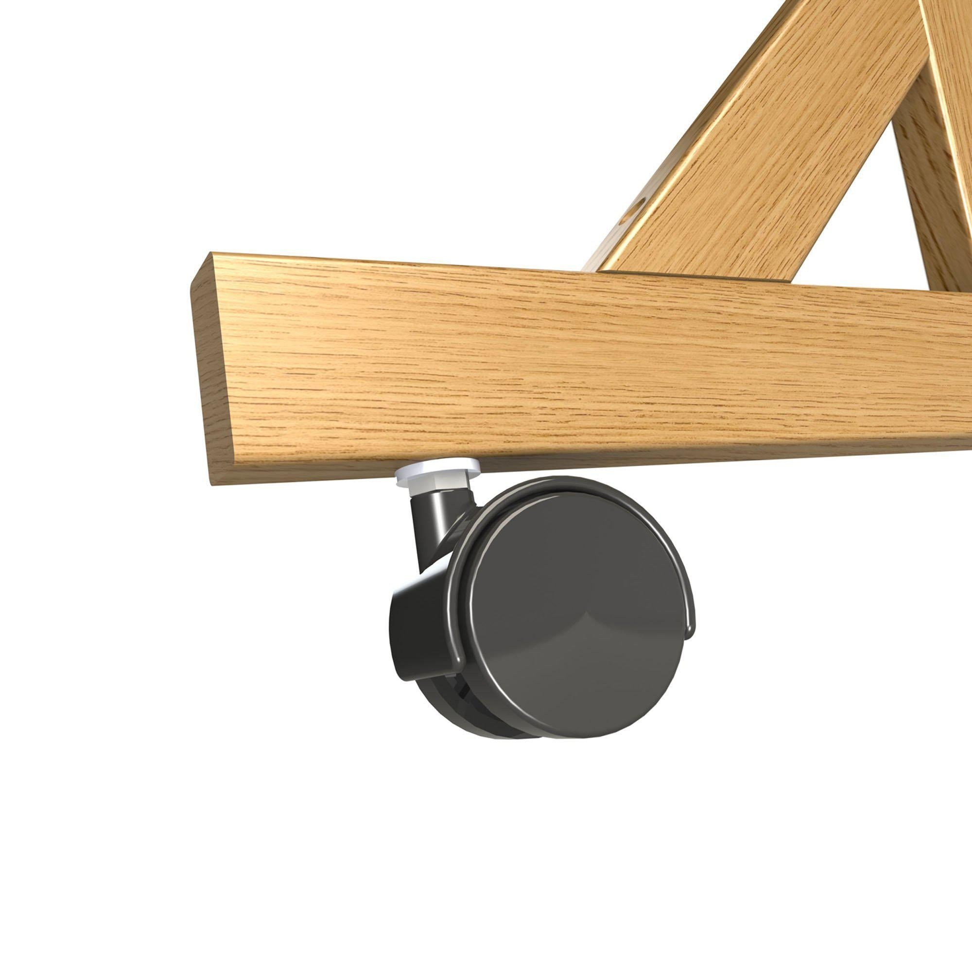 Casters for Wood Frame Reversible Boards-Boards-