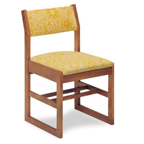 Class Act Chair with Upholstered Seat And Back, Sled Base