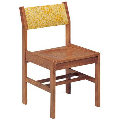 Class Act Chair with Upholstered Back, 4 Legs