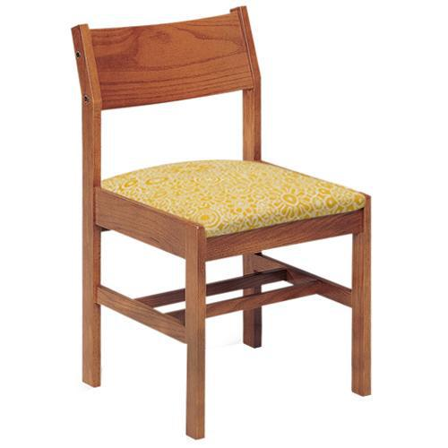 Class Act Chair with Upholstered Seat, 4 Legs