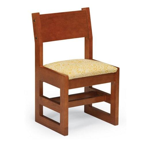 Class Act Chair with Upholstered Seat, Sled Base