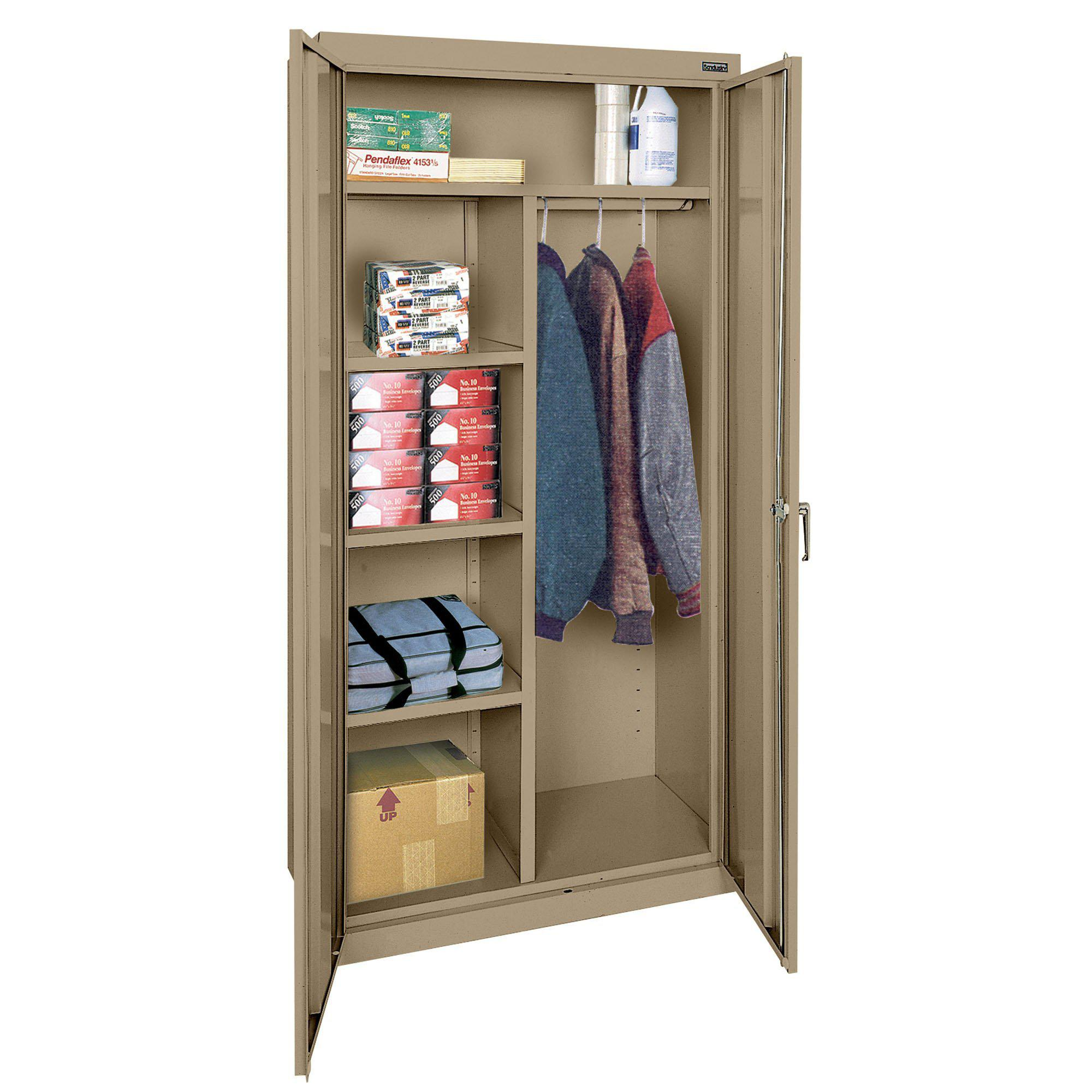 Classic Series Combination Storage Cabinet, 36 x 24 x 72