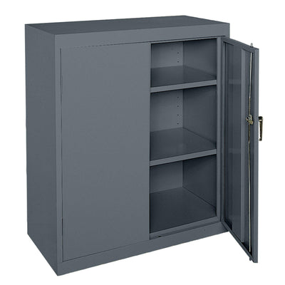 Classic Series Counter Height Storage Cabinet, 36 x 18 x 42, Charcoal