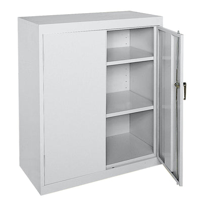 Classic Series Counter Height Storage Cabinet, 36 x 18 x 42, Dove Gray