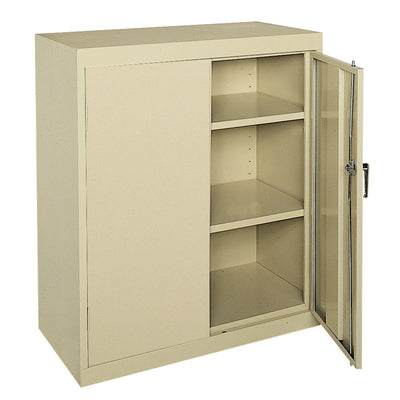 Classic Series Counter Height Storage Cabinet, 36 x 18 x 42, Putty