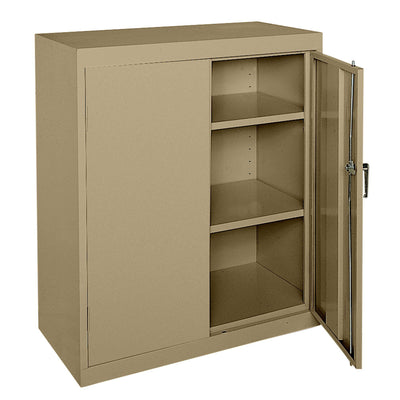 Classic Series Counter Height Storage Cabinet, 36 x 18 x 42, Tropic Sand