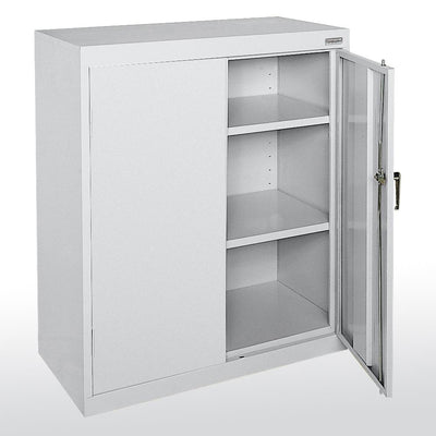 Classic Series Counter Height Storage Cabinet, 36 x 24 x 42-Storage Cabinets & Shelving-Dove Gray-
