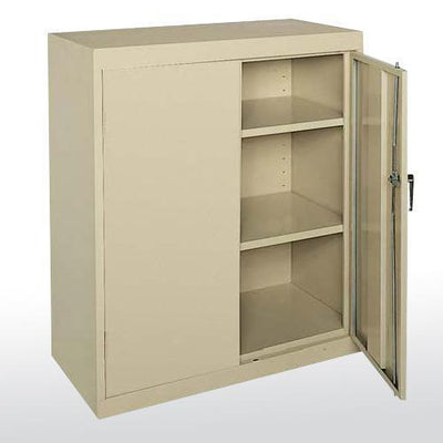 Classic Series Counter Height Storage Cabinet, 36 x 24 x 42-Storage Cabinets & Shelving-Putty-