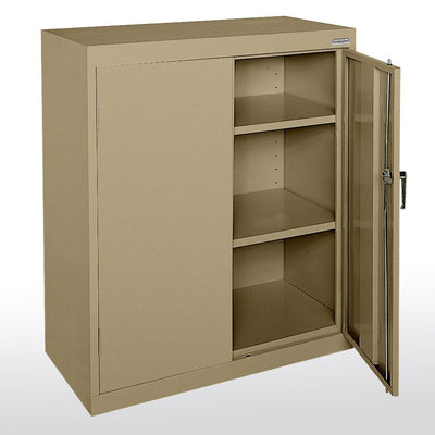 Classic Series Counter Height Storage Cabinet, 36 x 24 x 42-Storage Cabinets & Shelving-Tropic Sand-