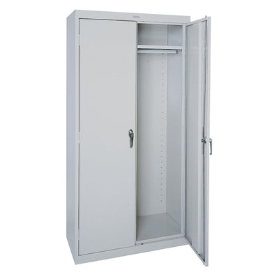 Classic Series Wardrobe Storage Cabinet, 36 x 24 x 72, Dove Gray