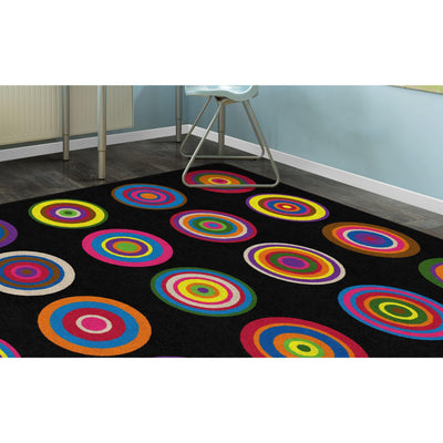 Color Rings Rugs-Classroom Rugs & Carpets-