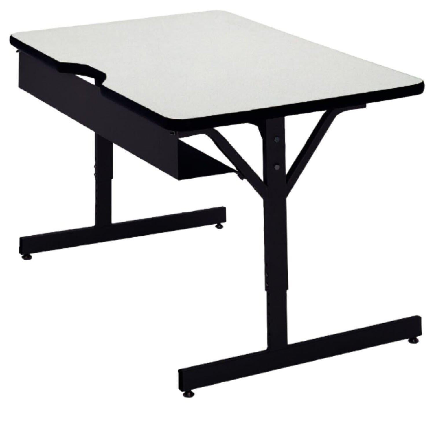 Compu-Table Adjustable-Height Computer Tables-Tables-