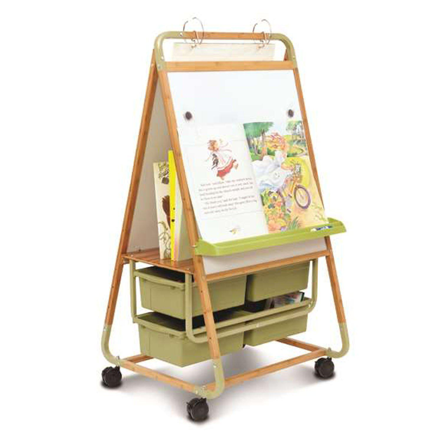 Copernicus Double-Sided Bamboo Teaching Easel-Boards-