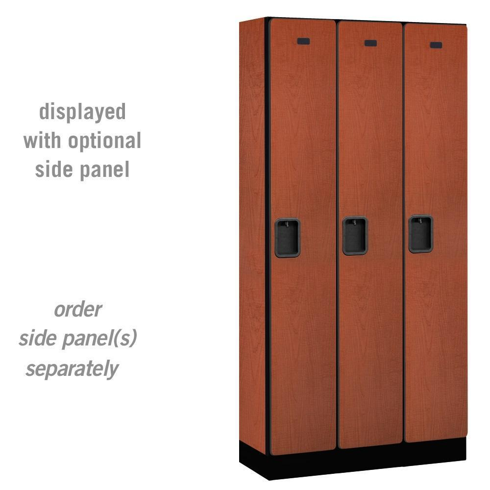 "Designer Wood Lockers, 12"" Wide Single Tier, 6 Feet High, 15"" Deep"