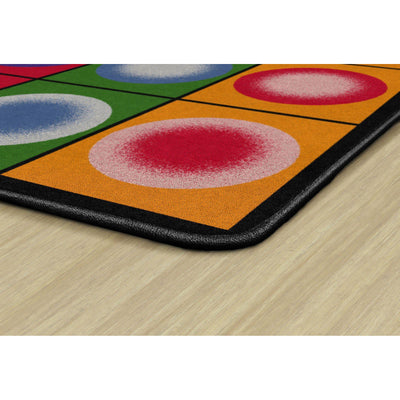 Dot Spots Rugs-Classroom Rugs & Carpets-