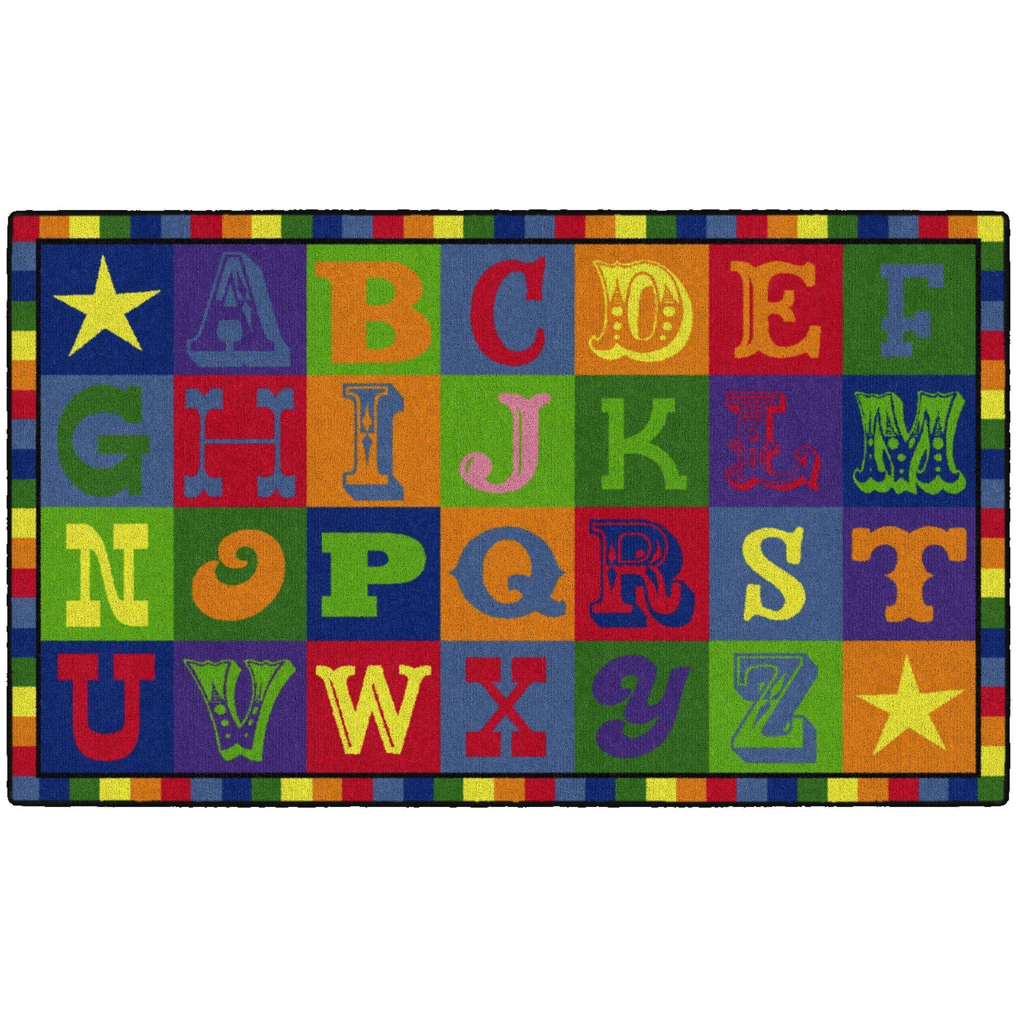 Early Blocks Rugs-Classroom Rugs & Carpets-