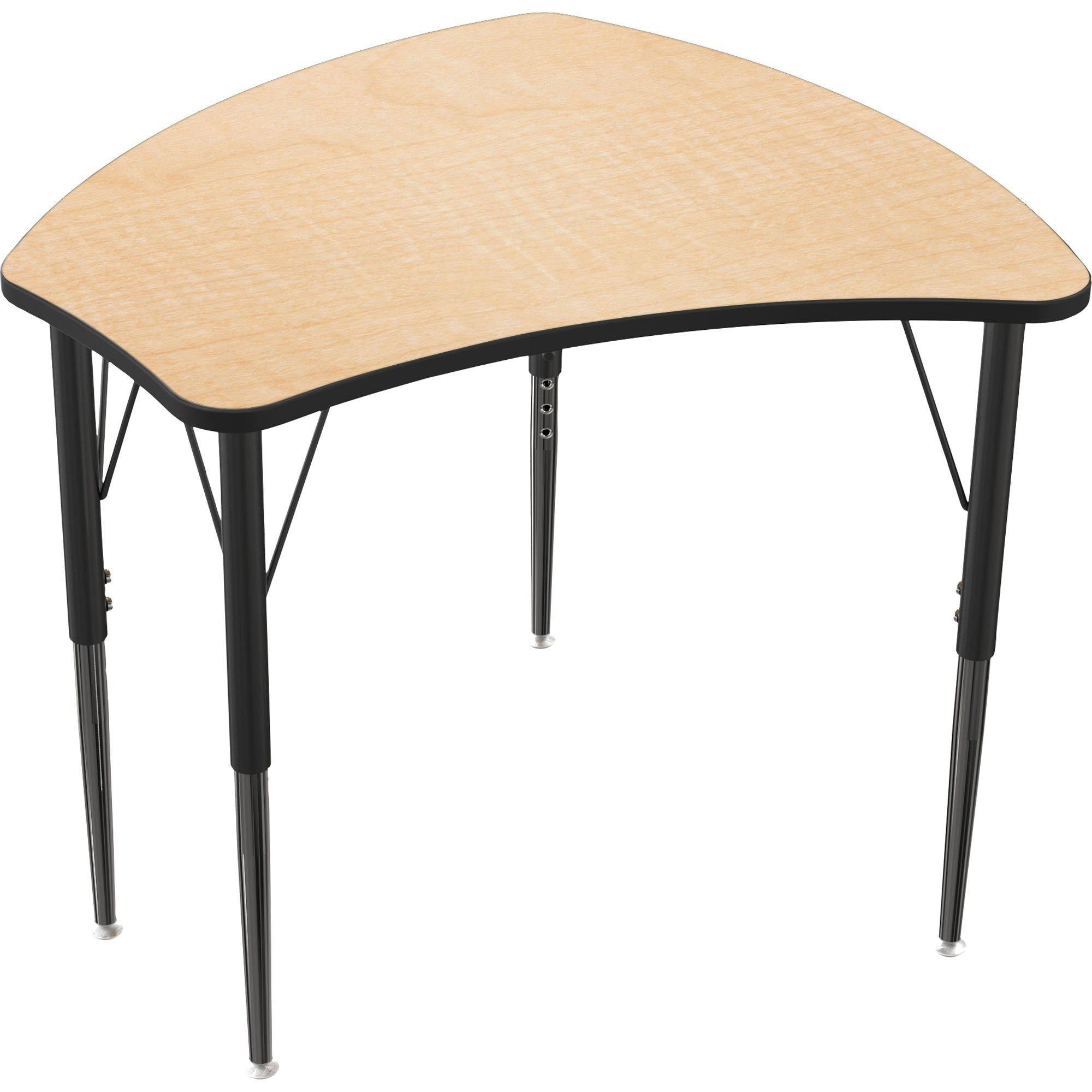 Economy Shapes Desk-Desks-Fusion Maple-