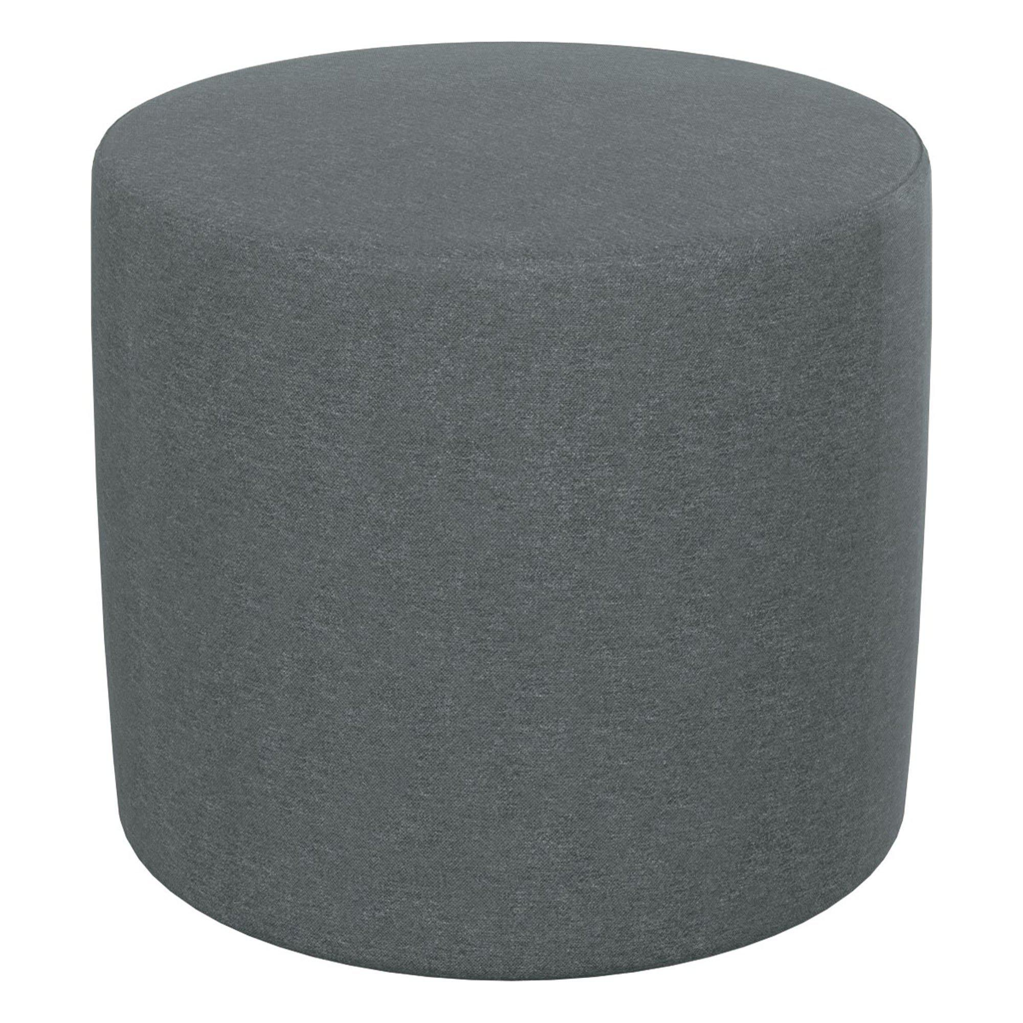 Economy Soft Seating Large Pouf Stool/Ottoman-Soft Seating-