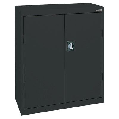 Elite Series Counter Height Storage Cabinet, 46 x 24 x 42, Black