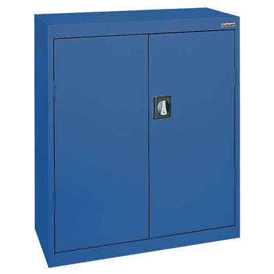 Elite Series Counter Height Storage Cabinet, 46 x 24 x 42, Blue