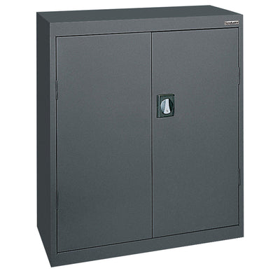 Elite Series Counter Height Storage Cabinet, 46 x 24 x 42, Charcoal