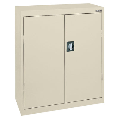 Elite Series Counter Height Storage Cabinet, 46 x 24 x 42, Putty