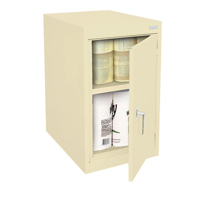 Elite Series Desk Height Storage Cabinet, 18 x 24 x 30, Putty
