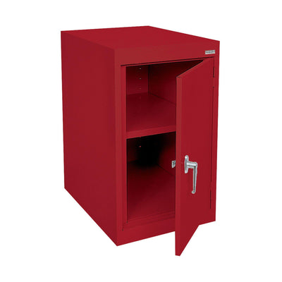 Elite Series Desk Height Storage Cabinet, 18 x 24 x 30, Red