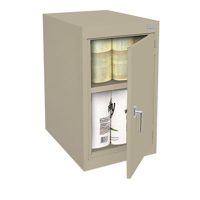 Elite Series Desk Height Storage Cabinet, 18 x 24 x 30, Tropic Sand