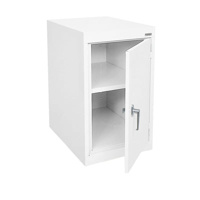 Elite Series Desk Height Storage Cabinet, 18 x 24 x 30, White