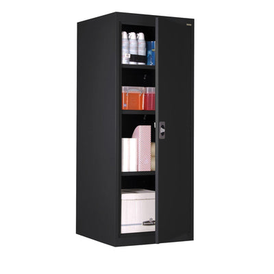 Elite Series Storage Cabinet, 24 x 24 x 60, Black