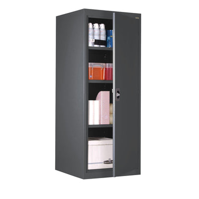 Elite Series Storage Cabinet, 24 x 24 x 60, Charcoal