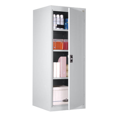Elite Series Storage Cabinet, 24 x 24 x 60, Dove Gray